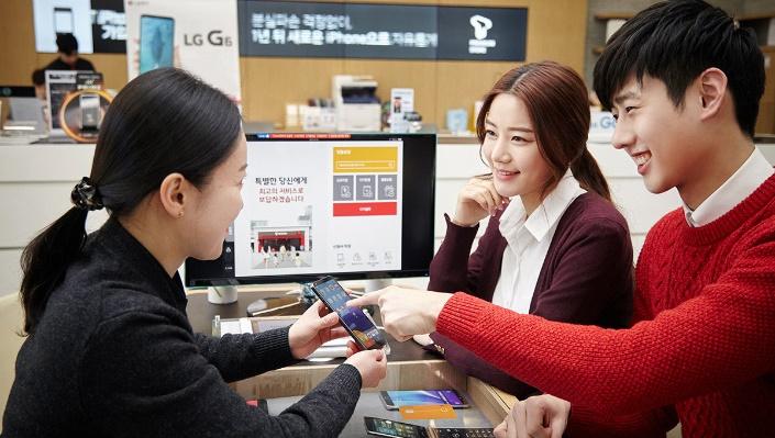 SK텔레콤, LG G6, G6