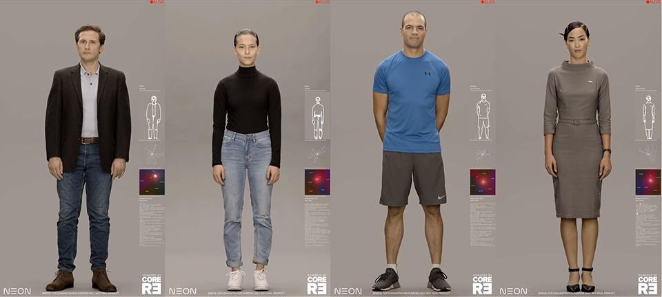 디지털휴먼, 인공인간, AI, 인공지능, 컴퓨터그래픽, CG