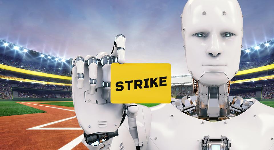 SKT, SK텔레콤, AI, 로봇, 로봇심판, 축구로봇심판, 야구로봇심판, kbo심판, 스포츠AI