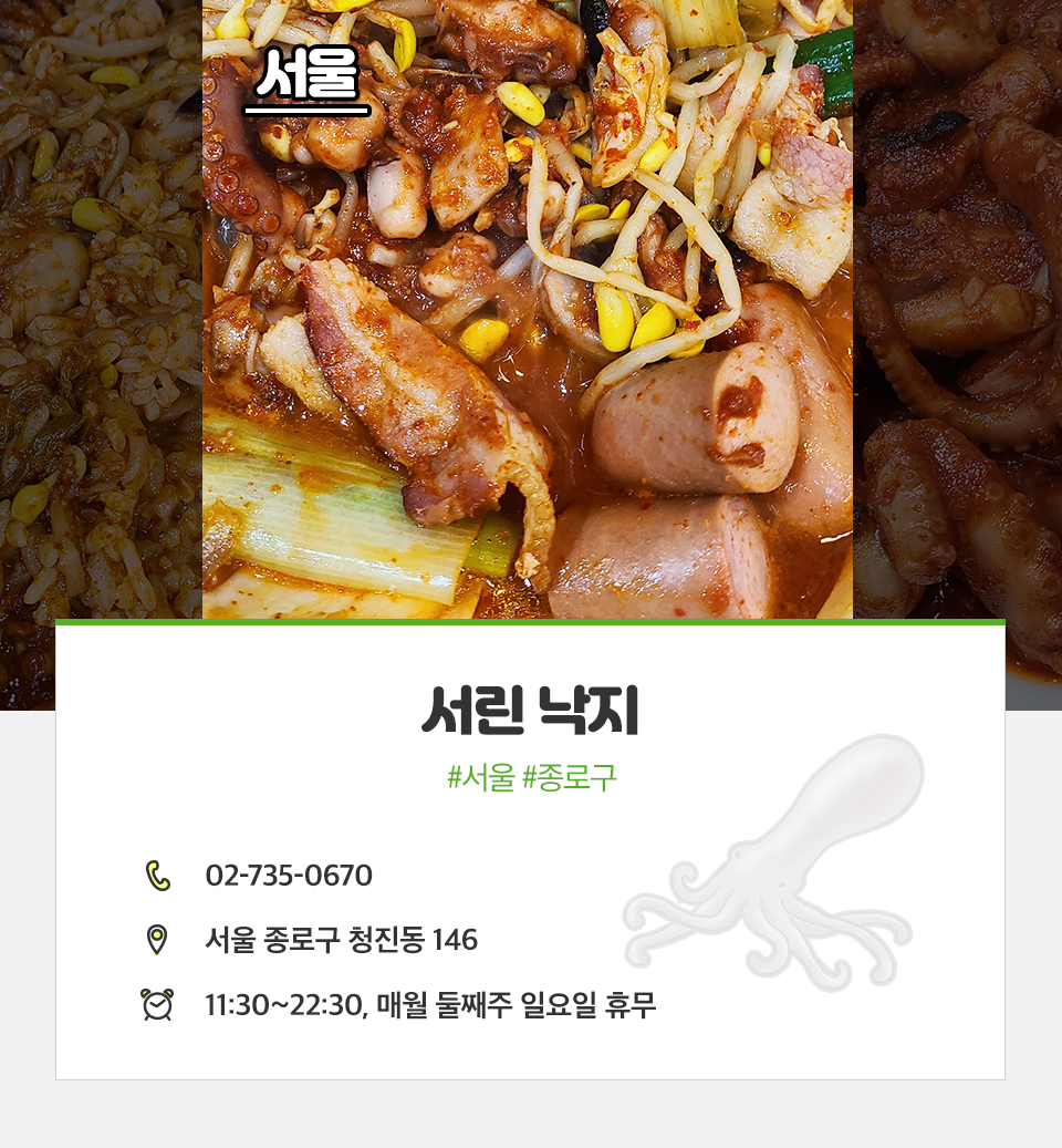 T맵미식로드, 낙지, 낙지맛집, 전국낙지맛집, 낙지볶음맛집추천