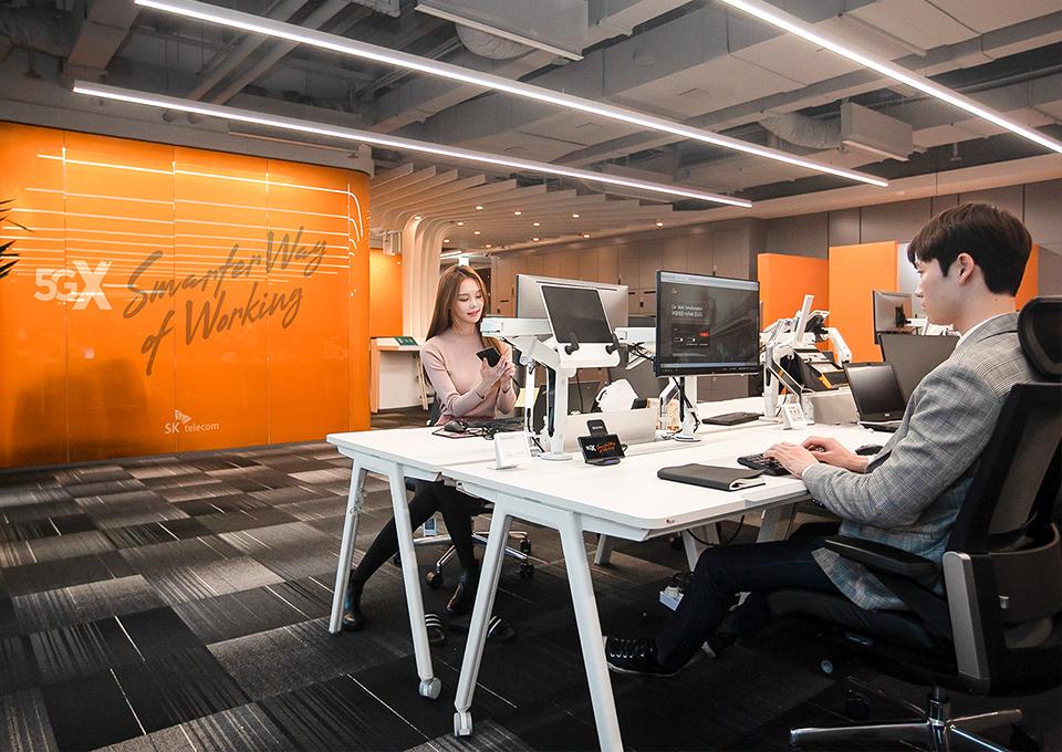미래 업무 환경, 디지털 트랜스포메이션, 스마트 오피스, remote work
