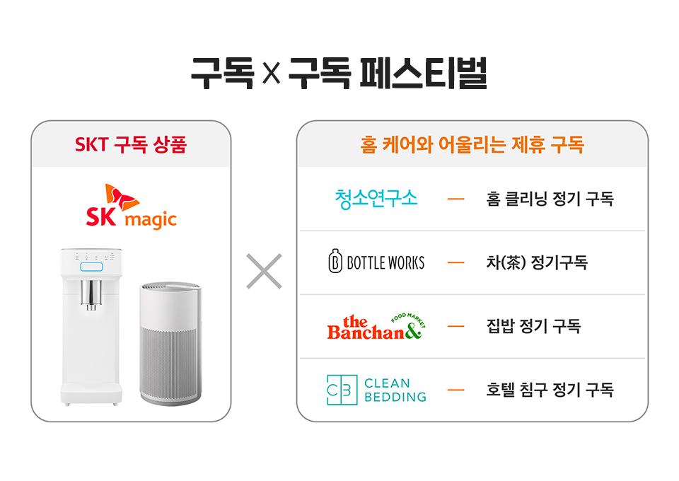 SKT, SK텔레콤, 구독, SK매직, SK매직렌탈서비스, sk매직 이벤트