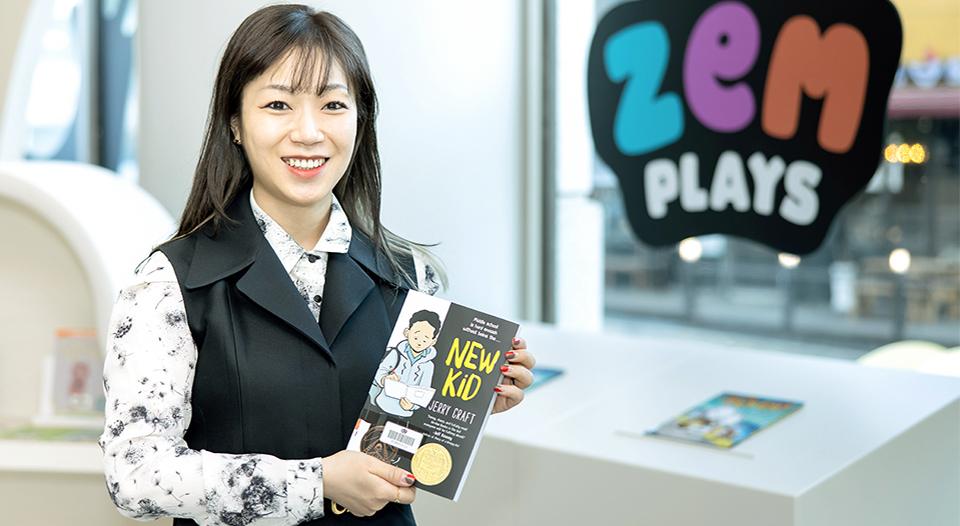 잼플레이스, ZEM PLAYS, 잼, ZEM, 영어놀이, 키즈카페, 김금란팀장