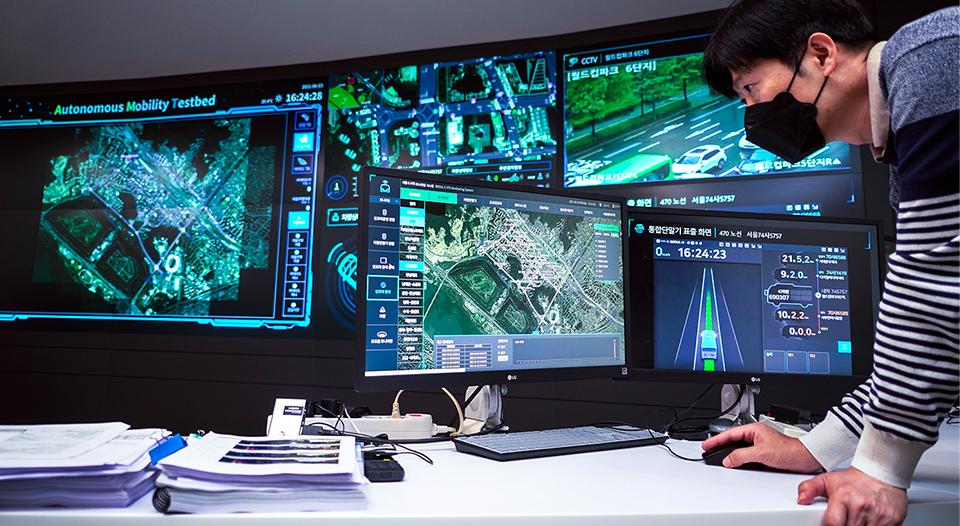 SKT, SK텔레콤, 5GX, 5G, 차세대 지능형 교통 시스템, C-ITS, 자율주행, 자율주행차, 5G ADAS, V2X, 5G기반 V2X, 자율협력주행 테스트베드