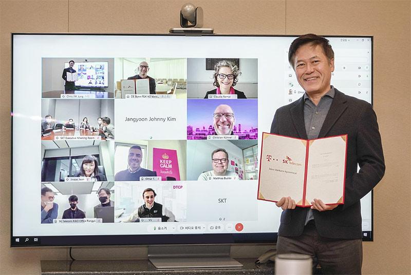 SKT-도이치텔레콤, '5G 기술 합작회사' 설립