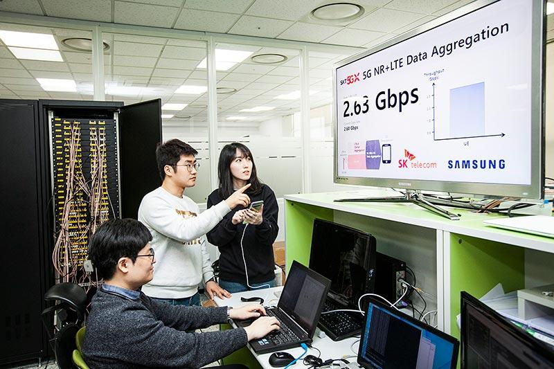 SKT, 삼성전자와 「갤럭시S10 5G」로 국내 최고속 2.7Gbps 구현