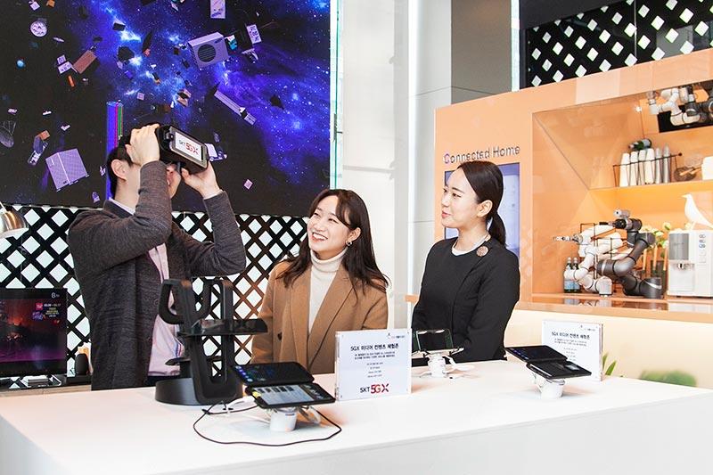 SKT, 세계 1호 5G스마트폰 출격 준비 완료