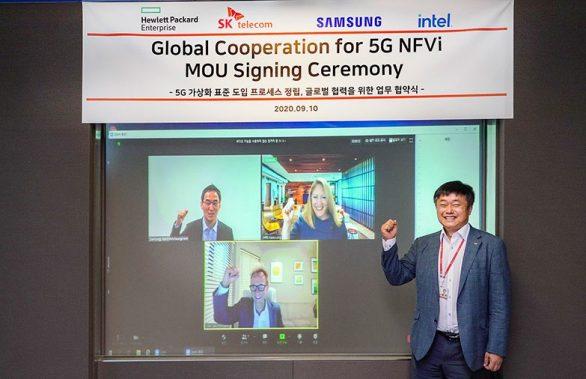 SKT, 5G 네트워크 진화 필수인 '망 가상화' 선도한다