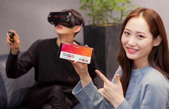 SKT, 5G 뉴미디어 시대 본격 개막