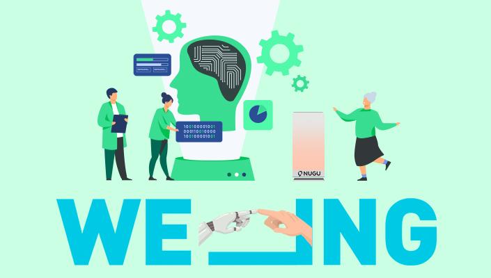 위잉, WE_ING, 인공지능, ESG, 인공지능돌봄, SKT인공지능