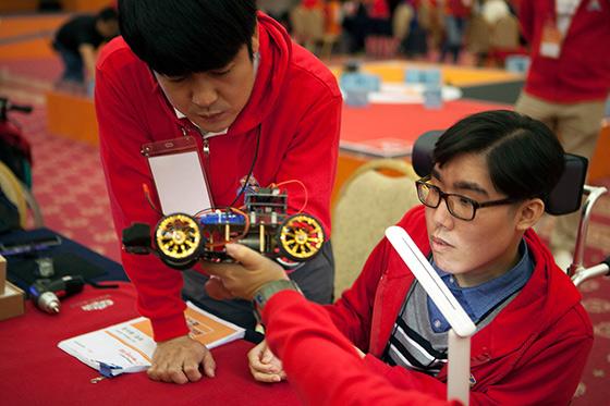 ICT, SK텔레콤, 한국장애인단체총연맹, SKT 장애청소년 ICT 메이커톤 대회
