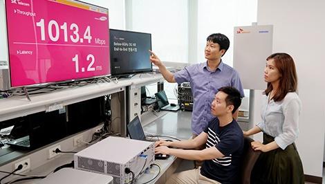 삼성전자, 노키아, 5G, 3.5GHz
