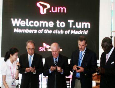 마드리드 클럽, T.um, T Ubi-quitous Museum, SK텔레콤