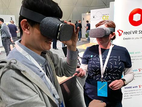 SK텔레콤, T real VR Studio, AR, VR