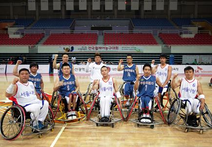 SK텔레콤배 전국 휠체어 농구대회, 장애인 스포츠활성화