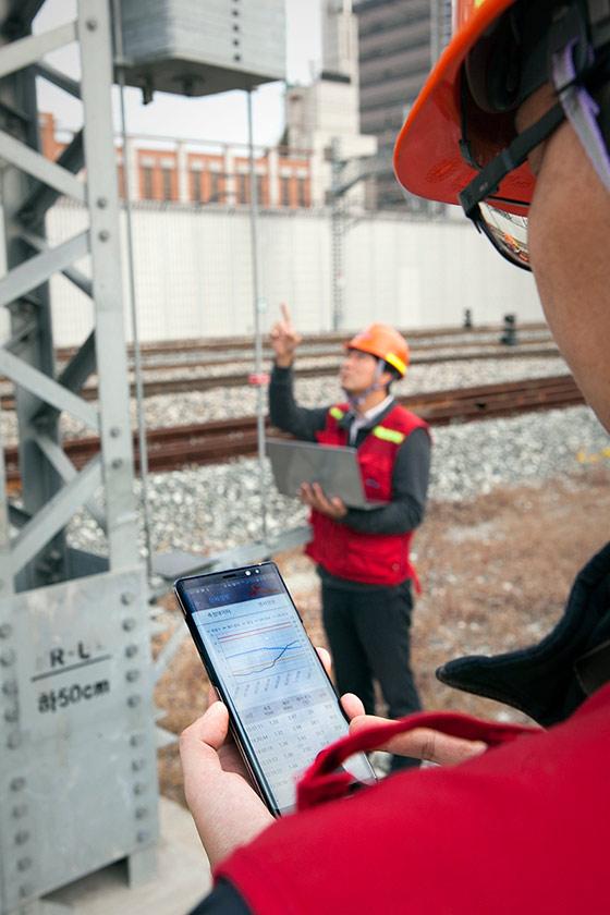 IoT, 코레일, 철도