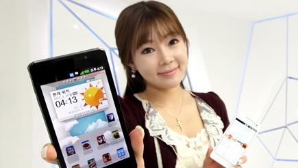 옵티머스 3D Cube, 3D 스마트폰, SK텔레콤, LG전자