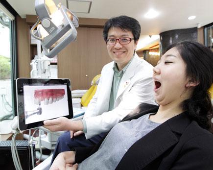 스마트 덴탈, 3D 동영상, 치과 치료 과정, 태블릿 PC기반 치과전용 의료솔루션