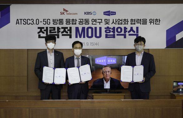 SKT, KBS, 캐스트닷에라, 5G MEC, 클라우스, AI