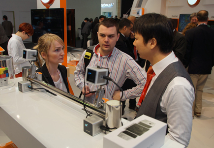 SK텔레콤, 스마트빔, 오토 마이스터, Mobile World Congress 2013 출범, 휴대용 소형 빔프로젝트
