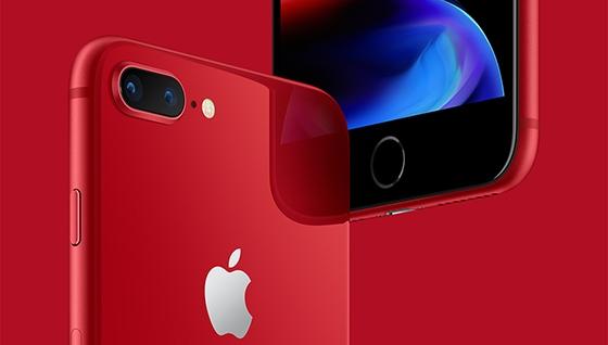 아이폰8, 아이폰8플러스레드