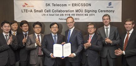 SK텔레콤, 에릭슨기업, LTE-A 공동협력, LTE-A 수퍼 셀 1.0